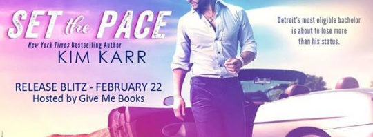 set the pace banner