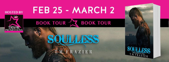 soulless book tour banner